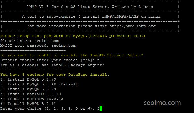 设置root用户数据库密码